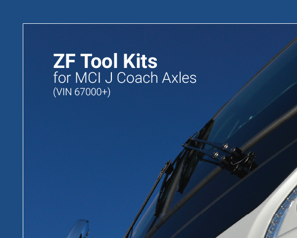 ZF Tool Kits for MCI J Coach Axles